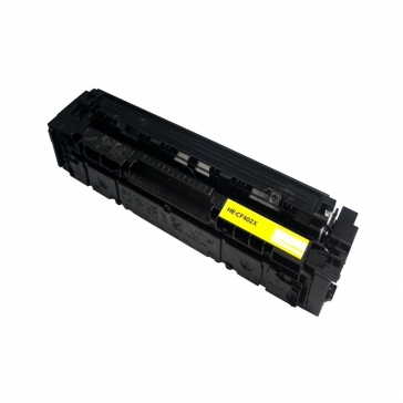 CF402X Συμβατό Τόνερ Hp 201X Yellow (Κίτρινο), (2300 σελίδες) για Hp Color LaserJet Pro M252n, M252dw, MFP M277n, MFP M277dw